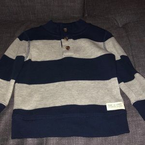 Navy and Grey GAP toddler sweater size 2T